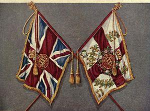 Border Regiment - Colours of the Border Regiment