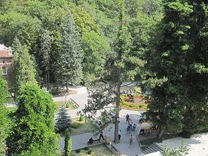 Borjomi (water) - The Borjomi-Kharagauli National Park near the source of the Borjomi mineral water.