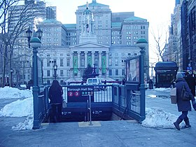 Image illustrative de l'article Court Street – Borough Hall (métro de New York)