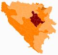 Bosnia and Herzegovina subdivision map Zenica-Doboj Canton.png