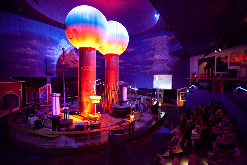 File:Boston Museum of Science, Theater of Electricity.jpg
