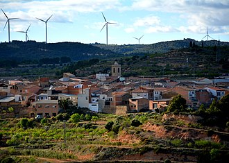 Bot, Tarragona - General view of Bot