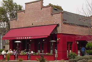 Thomas Keller - Bouchon restaurant in Yountville, California
