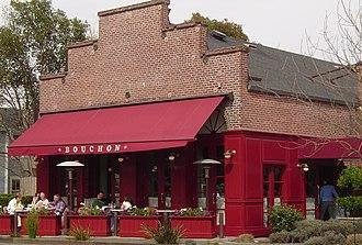 Thomas Keller - Bouchon restaurant in Yountville, California