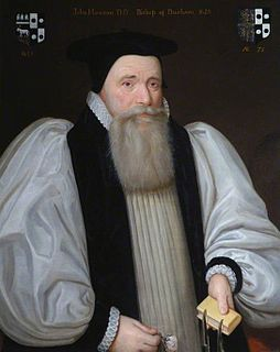 John Howson Bishop of Durham; English academic and Anglican bishop