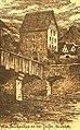 Brückentor talfer 15 jh auf neujahrsentschuldigungskarte 1922.jpg