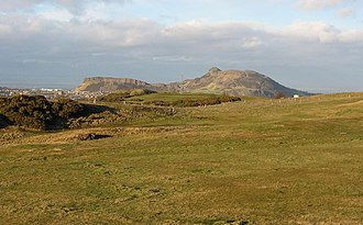 Braid Hills - Braid Hills, with Arthur's Seat prominently visible in the background