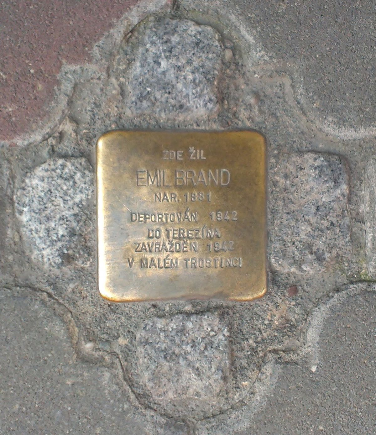 Stolpersteine In The Zl­nsk½ Kraj