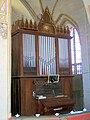 Brandshagen, Nordvorpommern, Dorfkirche, Orgel (2008-07-29).JPG
