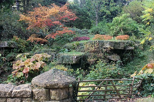 Bridge in Batsford Arboretum, Gloucestershire-6277807249