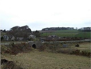 Bridge of Muchalls village in United Kingdom
