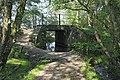 Bridge under disused Brockenhurst to Ringwood railway line - geograph.org.uk - 183571.jpg
