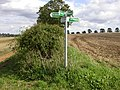 Bridleways in Five Directions - geograph.org.uk - 233020.jpg
