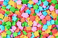 Bright Colorful Rainbow Sugar Star Shaped Cupcake Candies (3395511162).jpg