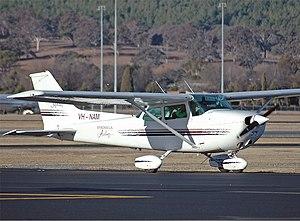 Brindabella Airlines Cessna 172N Skyhawk II CBR Gilbert.jpg