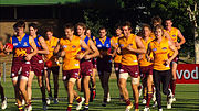 Brisbane Lions at training