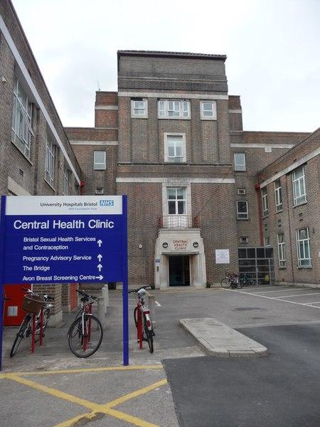 File:Bristol , Central Health Clinic - geograph.org.uk - 1360619.jpg