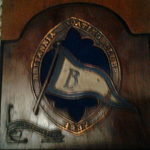 Britannia Yacht Club then Britannia Boating Club Plaque 1932.JPG
