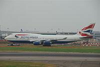 G-CIVM - B744 - British Airways