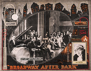 <i>Broadway After Dark</i> 1924 film by Monta Bell