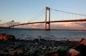 Whitestone, Queens - The Bronx-Whitestone Bridge as seen from Whitestone