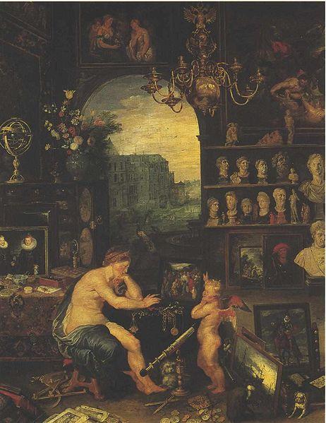Brueghel Jan - Der Gesichtsinn
