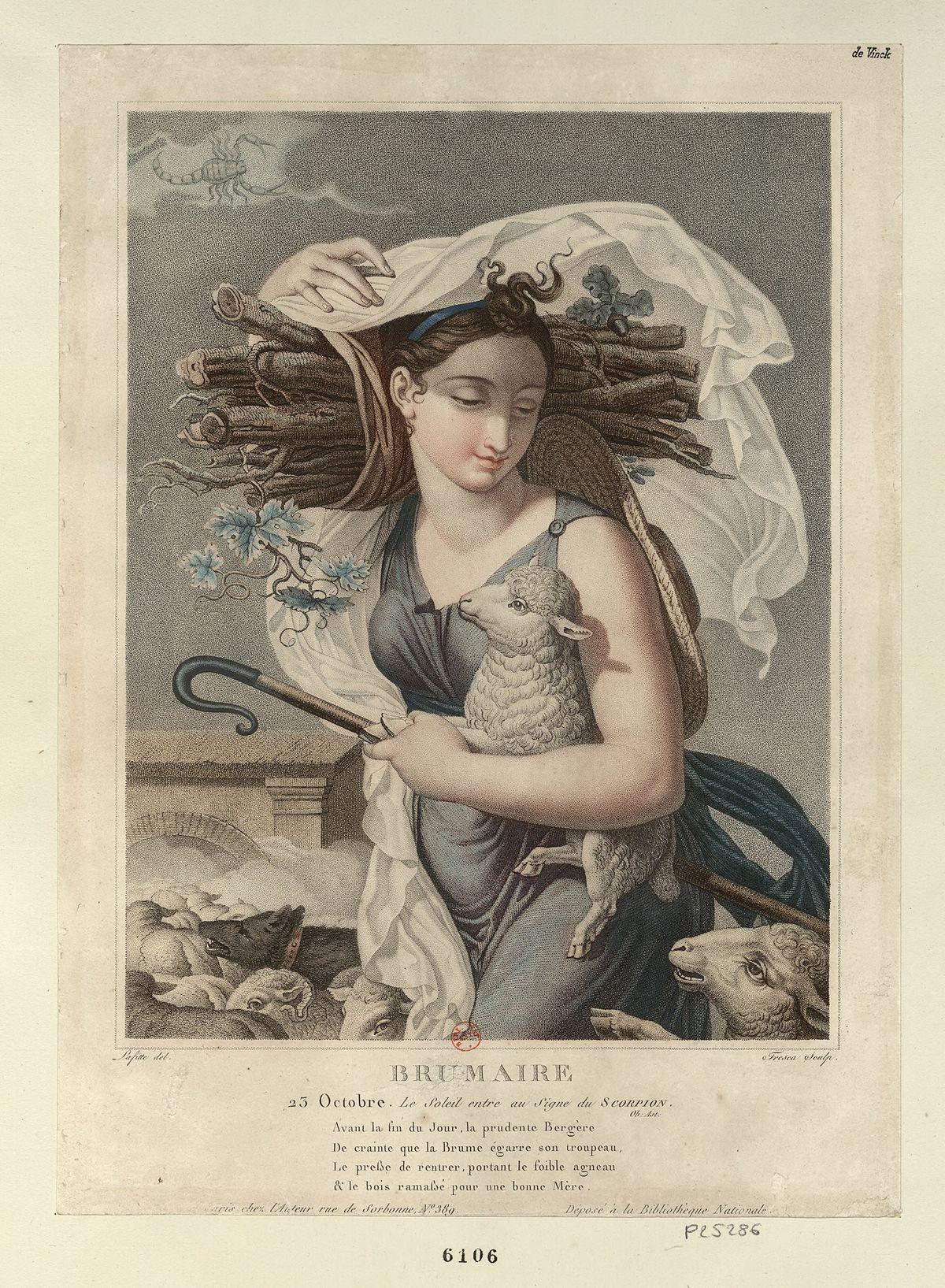 Terzo Mese Del Calendario Rivoluzionario Francese.Brumaio Wikipedia