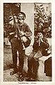 Bruno, Giuseppe (1836-1904) - Piffieri ambulanti calabresi - Cartolina Galifi Crupi (2).jpg