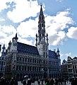 Bruxelles Grand-Place Hôtel de Ville 01.jpg