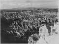 Bryce Canyon from Bryce Point, looking northeast. - NARA - 520312.tif