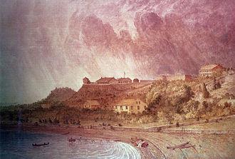 Siege of Fort Mackinac - Fort Mackinac, Michigan