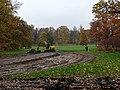 Bubeneč, Stromovka, výstavba nového rybníka.jpg