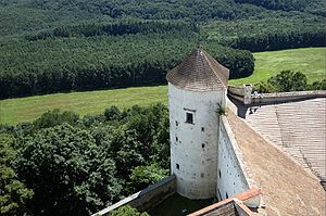 Buchlov - Image: Buchlov castle 01