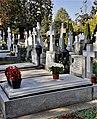 Bucuresti, Romania. Cimitirul Bellu Catolic. Mormantul Compozitorului Dan Iagnov. Octombrie 2021.jpg