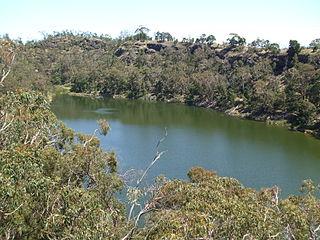 Bessiebelle Town in Victoria, Australia