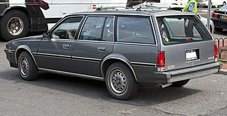 Buick Skyhawk - Facelifted Skyhawk station wagon