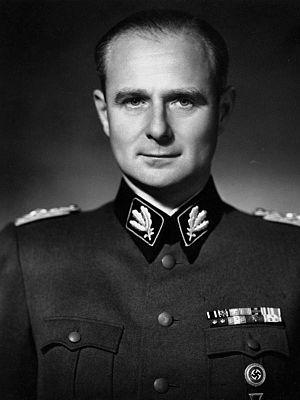 Karl Wolff - SS-Gruppenführer Wolff in 1937