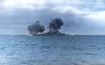 Bundesarchiv Bild 146-1984-055-13, Schlachtschiff Bismarck, Seegefecht Recolored.png