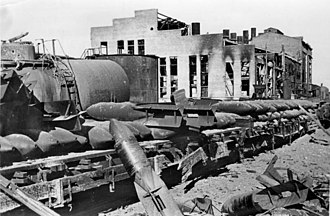 Karl Strecker - An armory outside the Tractor Plant used by Strecker as a makeshift HQ in the final days of the Battle of Stalingrad