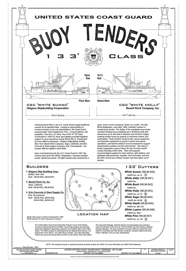 File:Buoy Tenders 133' Class Title Page - U S  Coast Guard Buoy