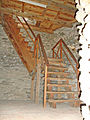 Burgruine Krems zum Bergfried 1.JPG