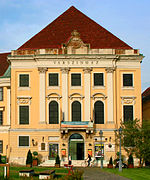 Burgtheater Budapest Varszinhaz 2009 august