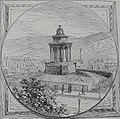 Burns' Monument on Calton Hill, Edinburgh. 1879.jpg