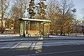 Bus stop in Kuldīga - panoramio.jpg