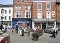 Busker in Ludlow town centre (1) - geograph.org.uk - 1466020.jpg