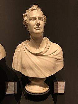 Bust of Giuseppe De Fabris at the Museo del Risorgimento in Milan.jpg