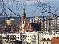Bydgoszcz - widok miasta na pierwszym planie widoczny kościół Św Trójcy. - panoramio.jpg