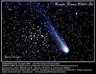 C/2001 Q4 (NEAT) - Image: C2001 Q4 Comet