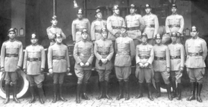 Stable belt - Firefighters Corps of Paraná - 1923.