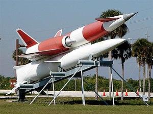 SM-64 Navaho - Navaho on display at CCAFS, Florida